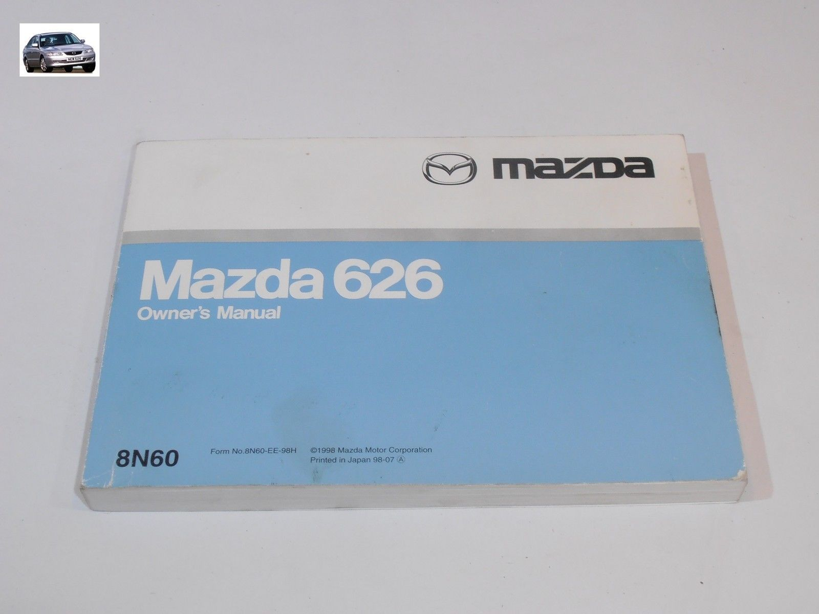 mazda 626 models gf gw from 1997 to 2002 handbook owners manual 8n60 rh  citycarparts co uk mazda 6 2002 service manual 2000 Mazda 626